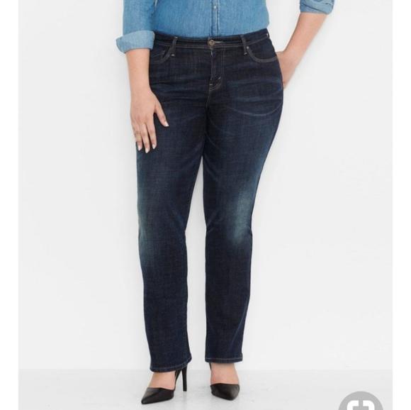 be928789f3fbe Levi s Denim - Levis plus 580 straight defined waist jeans ...